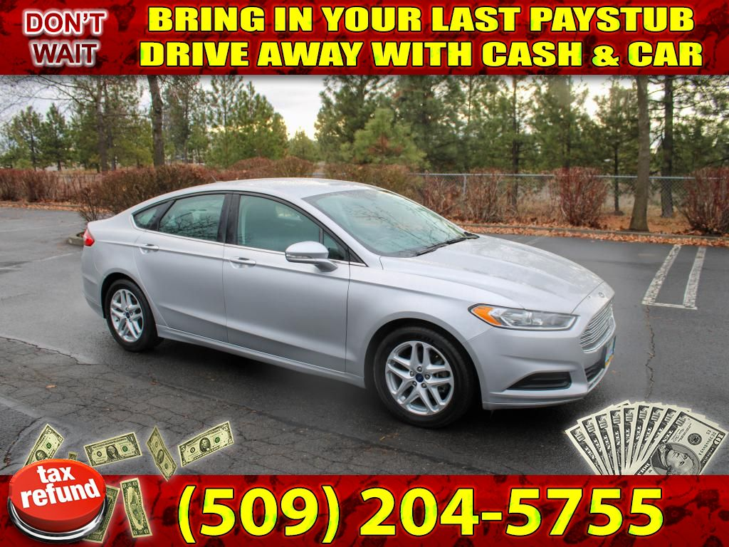 Pre-Owned 2016 Ford Fusion SE 2.5L 30+ MPG Sedan