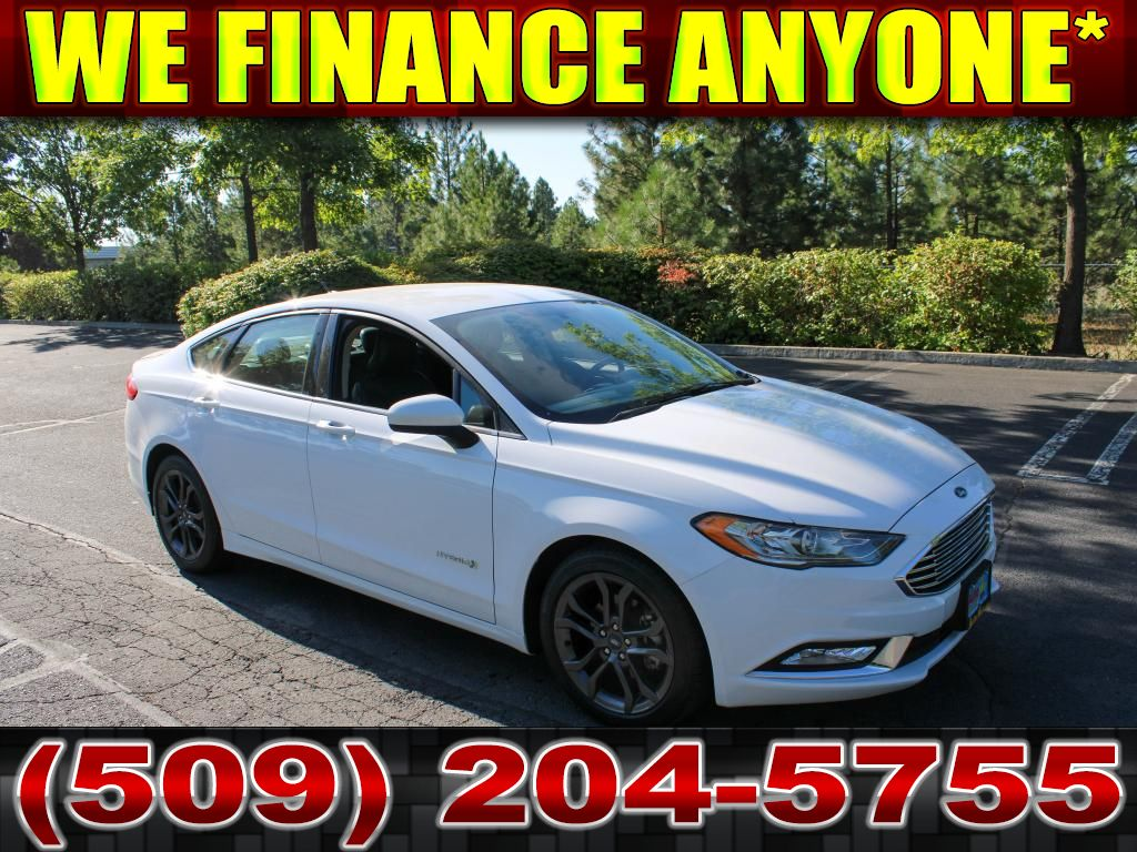 Pre-Owned 2018 Ford Fusion SE 2.0L Front Wheel Drive Sedan