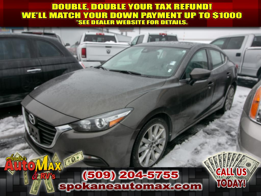 Pre-Owned 2017 Mazda3 Touring 2.0L Front Wheel Drive Sedan