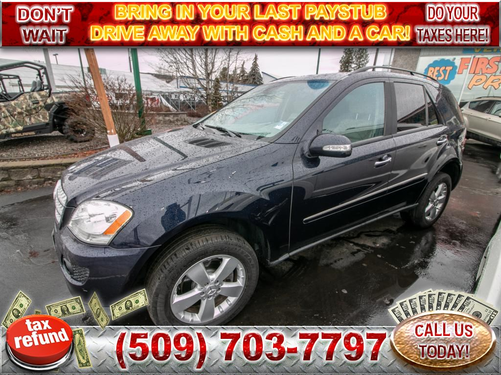 Pre-Owned 2006 Mercedes-Benz M-Class 5.0L V8 All Wheel Drive SUV