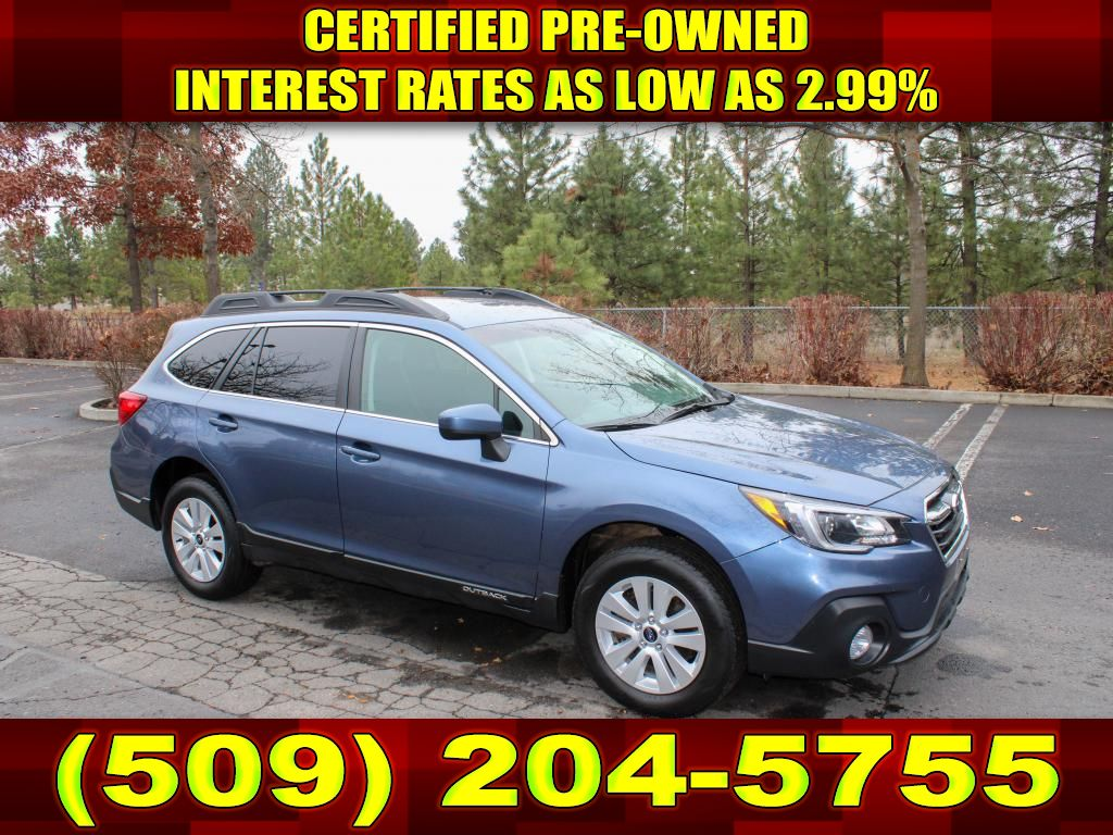 Pre-Owned 2018 Subaru Outback Premium 2.5L All Wheel Drive 4x4 SUV