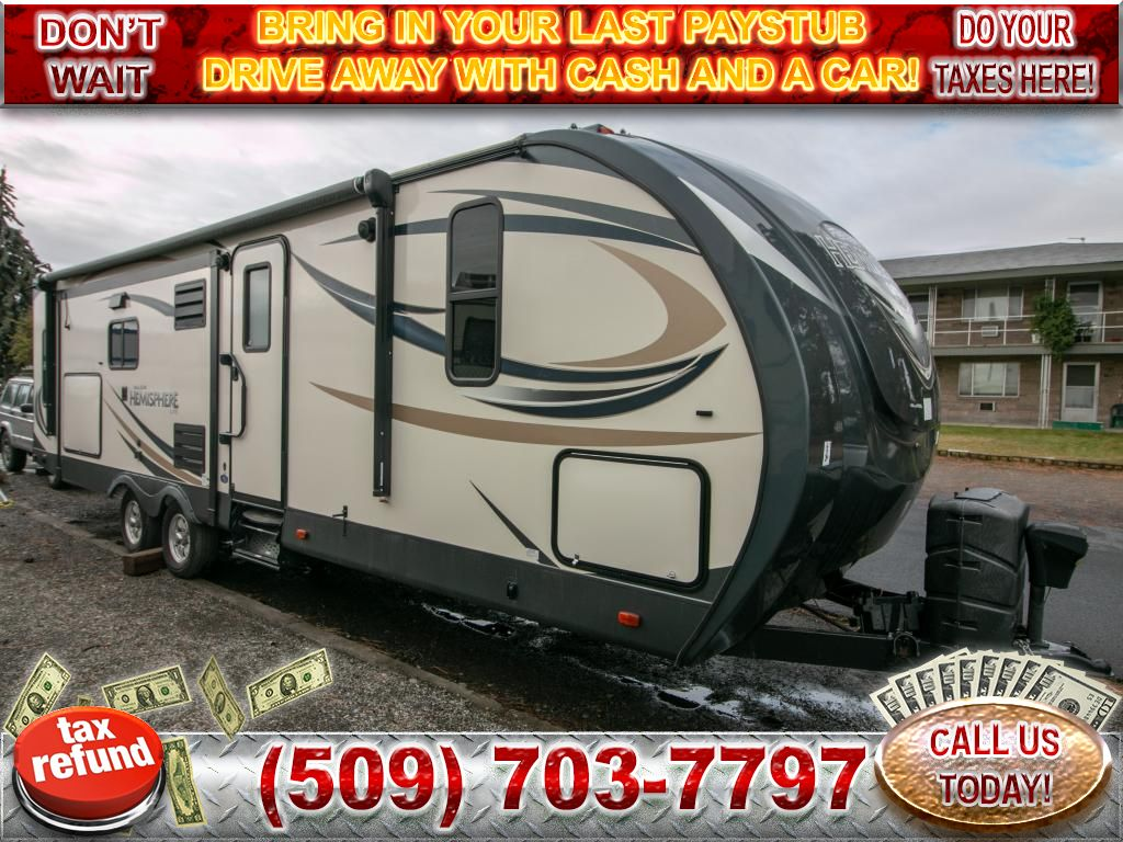 Pre-Owned 2016 SALEM CRUISE TRAVEL TRAILER T254RLXL
