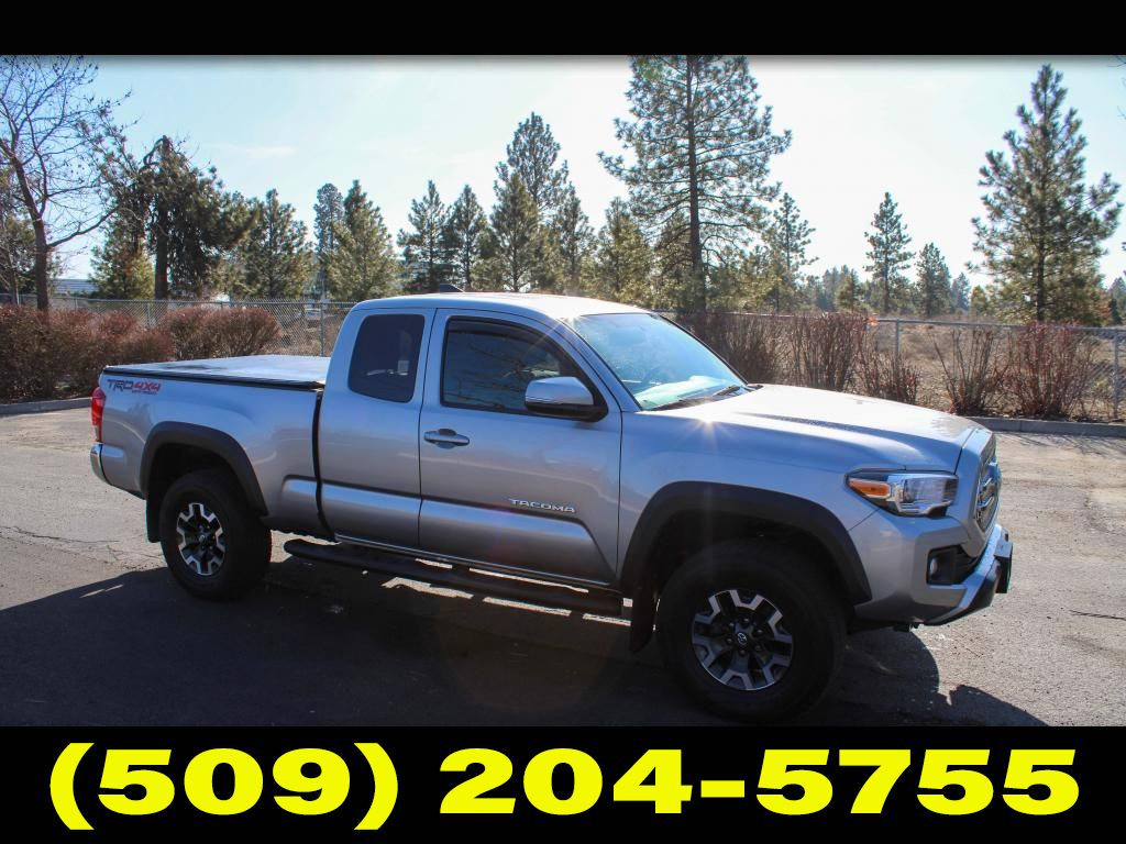 Pre-Owned 2017 Toyota Tacoma TRD OFF ROAD 3.5L V6 4x4 Pickup Truck