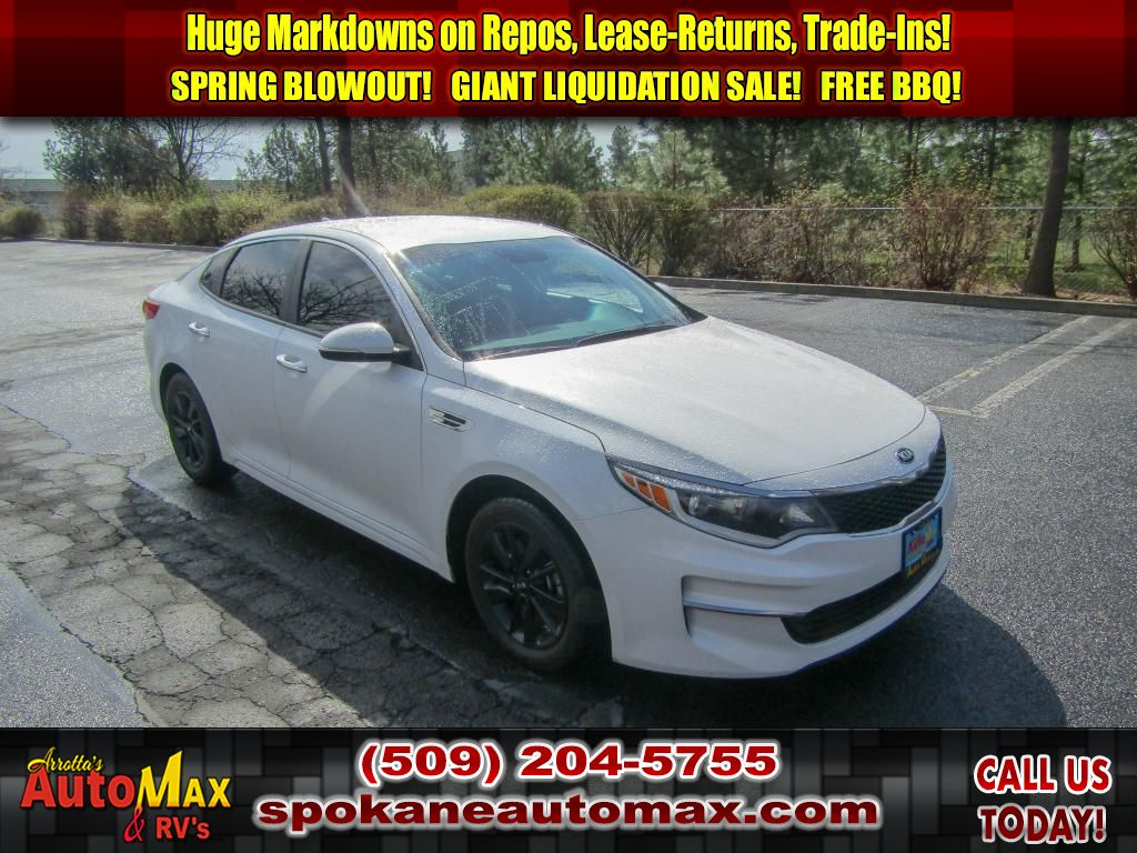 Pre-Owned 2018 Kia Optima LX 2.4L Front Wheel Drive Sedan