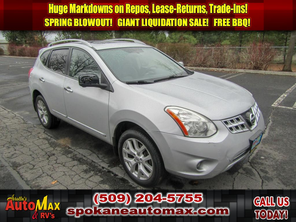 Pre-Owned 2013 Nissan Rogue SL 2.5L All Wheel Drive SUV