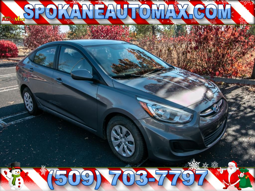 Pre-Owned 2015 Hyundai Accent GLS 1.6L Front Wheel Drive Sedan