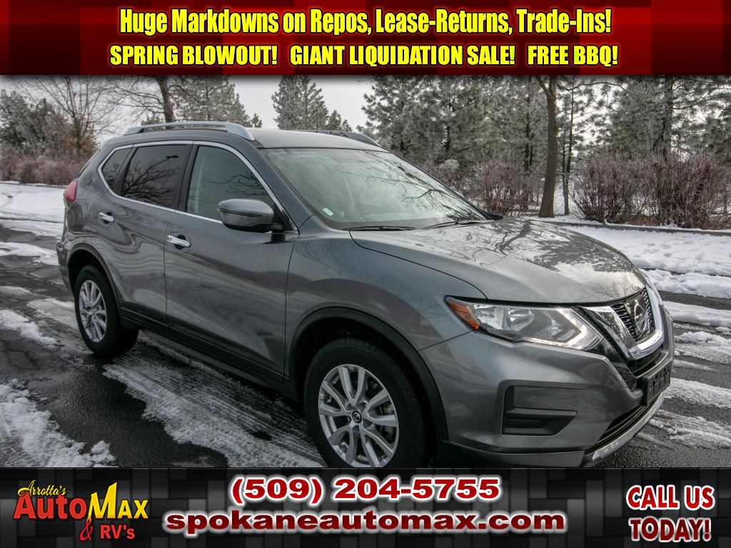 Nissan Rogue 3Rd Row >> Pre Owned 2017 Nissan Rogue Sv 2 5l All Wheel Drive Suv 3rd Row