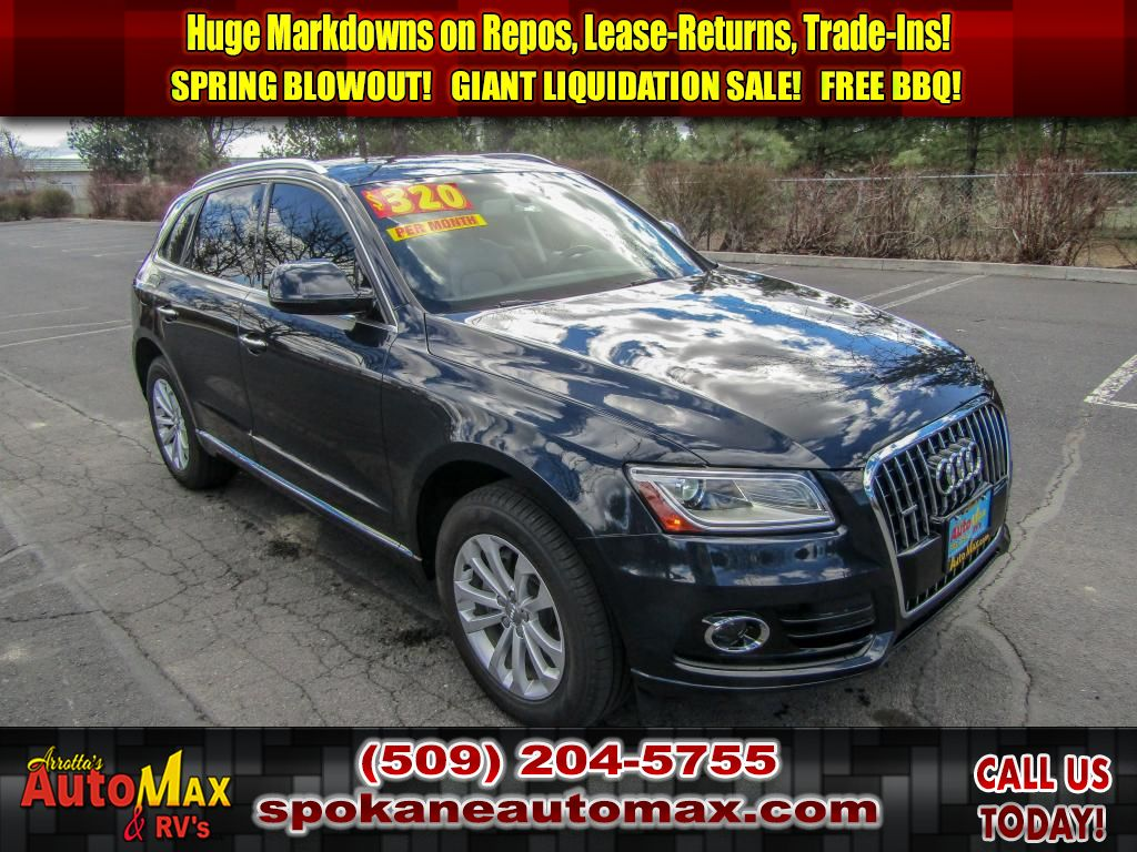 Pre-Owned 2016 Audi Q5 Premium 2.0L All Wheel Drive SUV