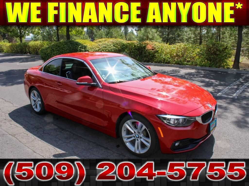 Pre-Owned 2018 BMW 4 series 430i 2.0L Convertible Sport
