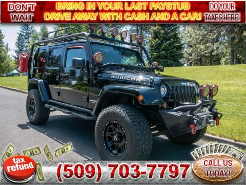 Pre-Owned 2015 Jeep Wrangler Unlimited Rubicon 4x4 3.6L V6 SUV