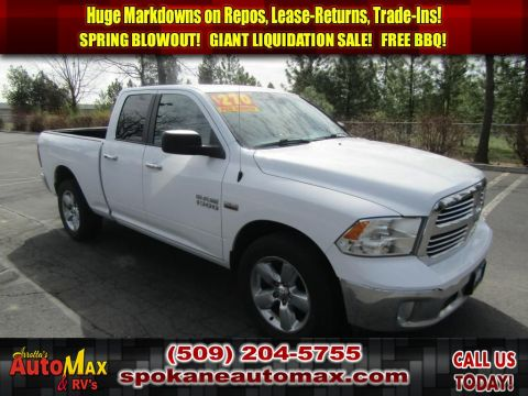 Pre-Owned 2015 Ram 1500 Big Horn 5.7L V8 4x4 Truck