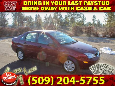 Pre-Owned 2007 Ford Focus SE 2.0L FWD Sedan