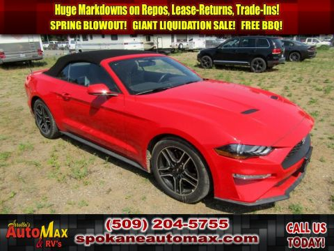 Pre-Owned 2019 Ford Mustang EcoBoost Premium 2.3L Sportscar