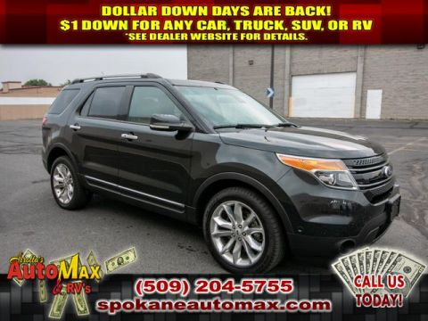 Pre-Owned 2015 Ford Explorer Limited 4x4 3.5L V6 SUV