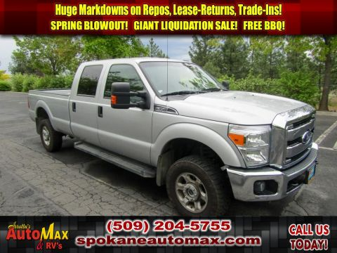 Pre-Owned 2015 Ford F-350 Super Duty XLT 6.2L V8 4x4 Long Bed Truck