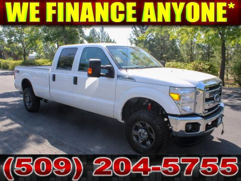 Pre-Owned 2015 Ford F-350 Super Duty XLT FX4 6.2L V8 4x4 Truck
