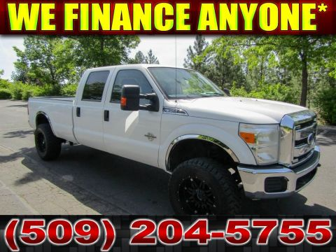 Pre-Owned 2014 Ford F-350 Super Duty XLT 6.7L V8 4x4 Diesel Long Bed Truck