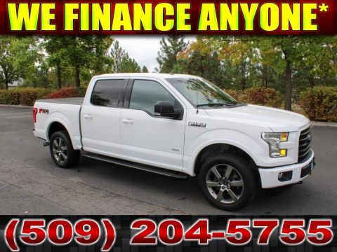 Pre-Owned 2016 Ford F-150 XLT FX4 3.5L V6 4x4 Ecoboost Truck