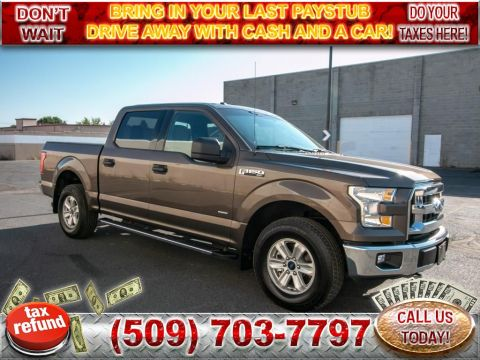 Pre-Owned 2017 Ford F-150 XLT 4x4 2.7L V6 EcoBoost Truck
