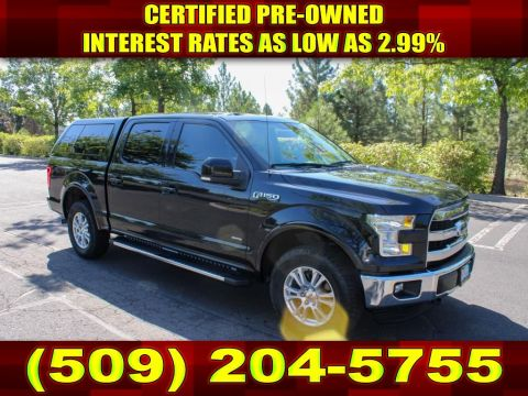 Pre-Owned 2015 Ford F-150 Lariat Eco boost fully loaded