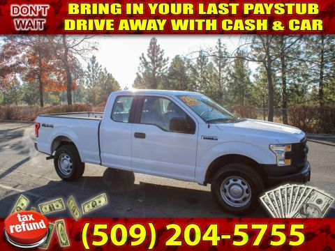 Pre-Owned 2015 Ford F-150 XLT 4x4 truck 1st time buyer truck