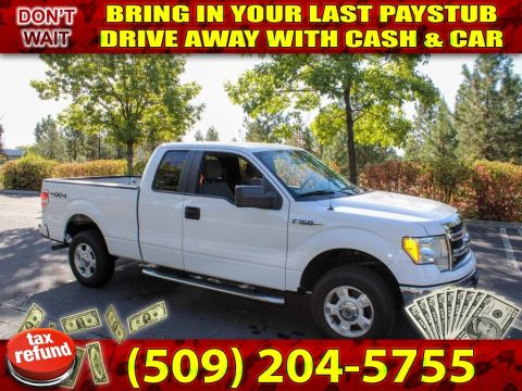 Pre-Owned 2014 Ford F-150 XLT 4x4 1st time buyer Pickup Truck