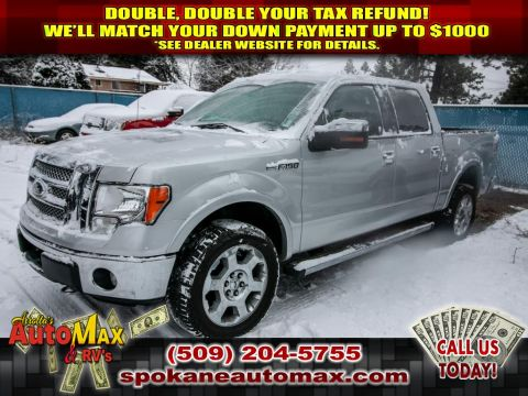 Pre-Owned 2012 Ford F-150 LARIAT 5.0L V8 4x4 Truck