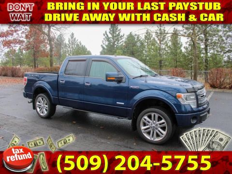 Pre-Owned 2014 Ford F-150 Limited 3.5L V6 4x4 EcoBoost Truck