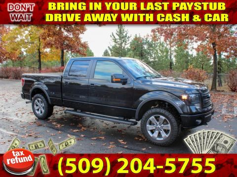 Pre-Owned 2013 Ford F-150 FX4 3.5L V6 4x4 Pickup Truck