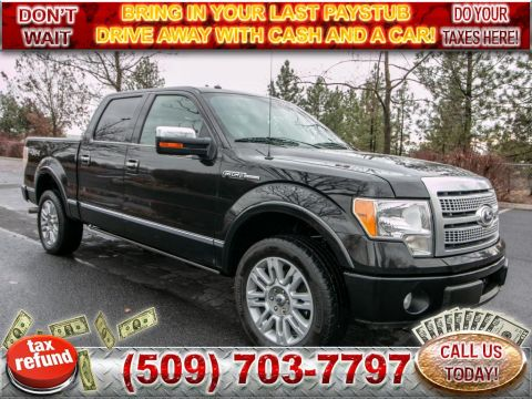 Pre-Owned 2010 Ford F-150 PLATINUM 5.4 L V8 4x4 Truck