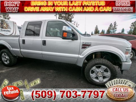 Pre-Owned 2008 Ford F-250 Super Duty LARIAT 6.4L V8 4x4 Diesel Truck