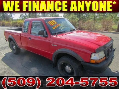 Pre-Owned 1998 Ford Ranger XL 3.0L V6 4x4 Truck