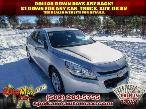 Pre-Owned 2016 Chevrolet Malibu Limited LT 2.5L Front Wheel Drive Sedan