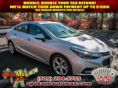 Pre-Owned 2017 Chevrolet Cruze Premier 1.4L Front Wheel Drive Sedan