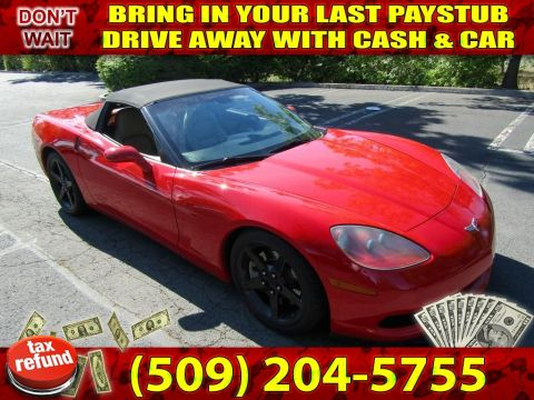 Pre-Owned 2005 Chevrolet Corvette Convertible Mecum Sportscar Coupe