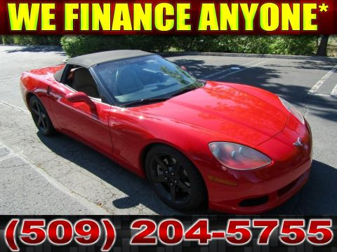 Pre-Owned 2005 Chevrolet Corvette Convertible Sportscar Coupe
