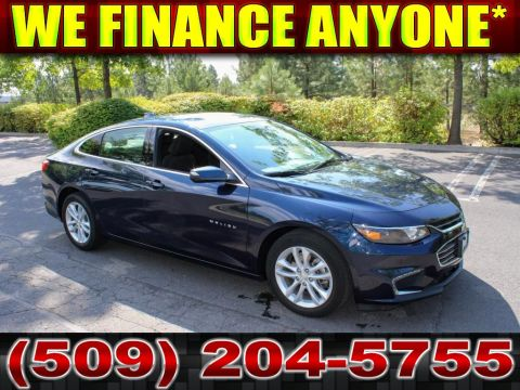 Pre-Owned 2018 Chevrolet Malibu LT 1.5L Front Wheel Drive Sedan