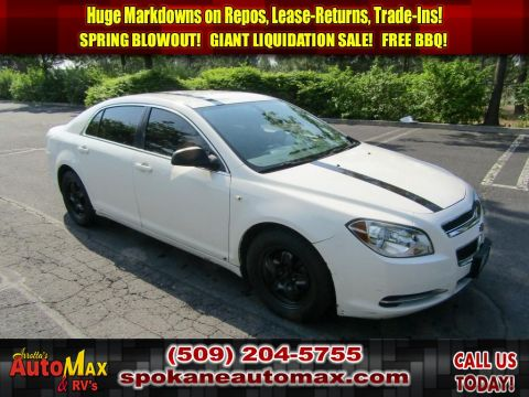 Pre-Owned 2008 Chevrolet Malibu LS w/1LS 2.4L Front Wheel Drive Sedan
