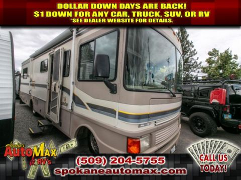Pre Owned 1997 Fleetwood Bounder P30 P Series