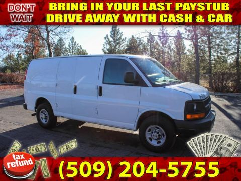 Pre-Owned 2008 Chevrolet Express 2500 4.8L V8 RWD Cargo Work Van