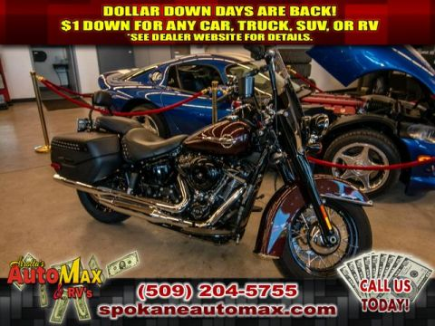 Pre-Owned 2018 Harley-Davidson FLHC Heritage Classic FLH80 HERITAGE