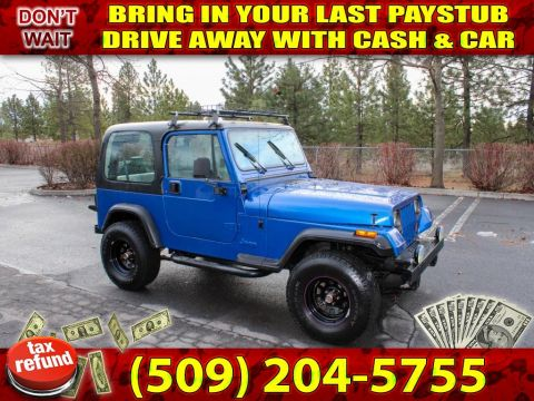 Pre-Owned 1994 Jeep Wrangler SE 4.0L Straight 6 4x4 SUV
