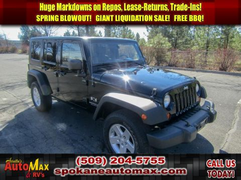 Pre-Owned 2008 Jeep Wrangler Unlimited Unlimited X 3.8L V6 Manual 4x4 SUV
