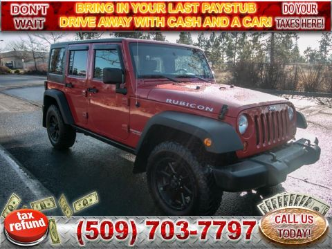 Pre-Owned 2009 Jeep Wrangler Unlimited Rubicon 3.8L V6 4x4 SUV