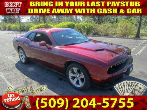 Pre-Owned 2018 Dodge Challenger SXT PLUS SPORT Muscle Car