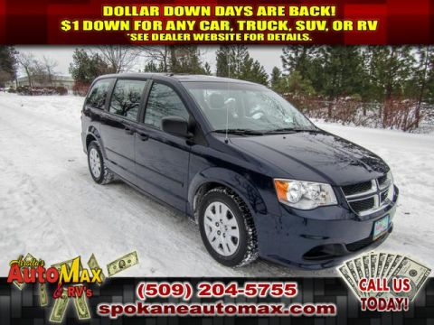 Pre-Owned 2015 Dodge Grand Caravan SE 3.6L Front Wheel Drive Minivan