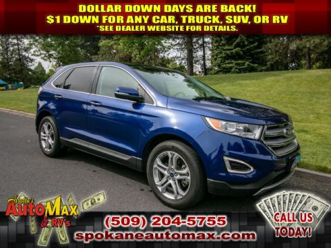 Pre-Owned 2015 Ford Edge Titanium All Wheel Drive SUV