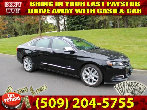 Pre-Owned 2018 Chevrolet Impala Premier Leather+heated seats+Navigation