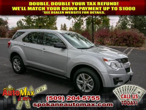 Pre-Owned 2015 Chevrolet Equinox LS 2.4L All Wheel Drive SUV