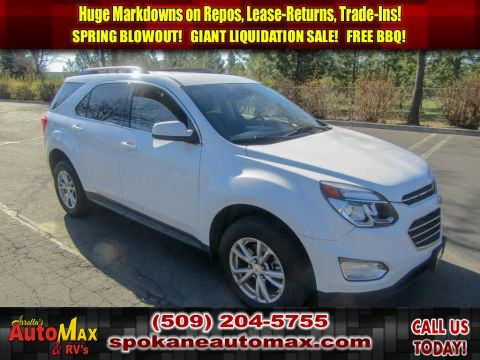 Pre-Owned 2017 Chevrolet Equinox LT 2.4L All Wheel Drive SUV